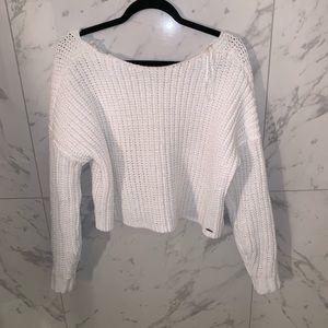 Hollister off the shoulder sweater